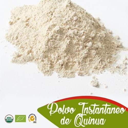 Instant quinoa powder